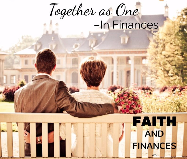 038: Together as One–In Finances