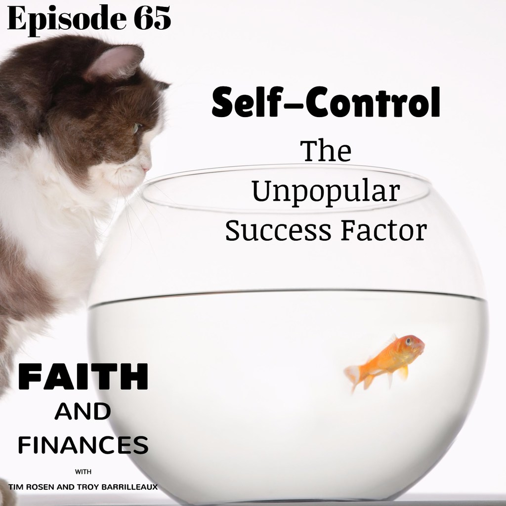 065: Self-Control, the Unpopular Success Factor